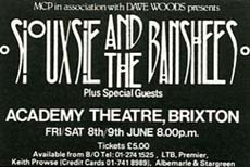 Brixton Academy Advert 08/06/84 - Click Here For Bigger Scan