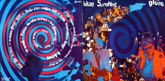 Blue Sunshine CD Front Cover