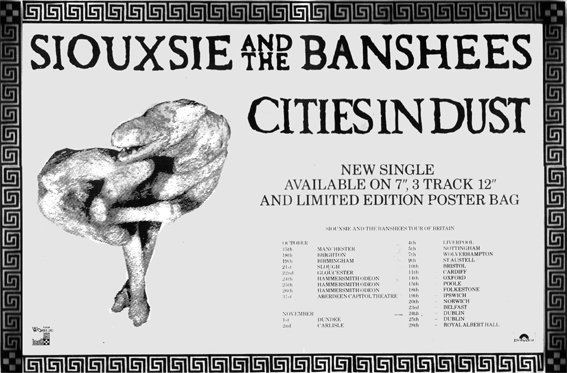 Cities In Dust Advert & Tour Dates - Click Here For Bigger Scan