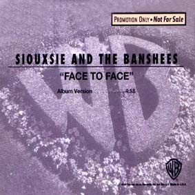 Face To Face US Promo Import CD Single Front Cover