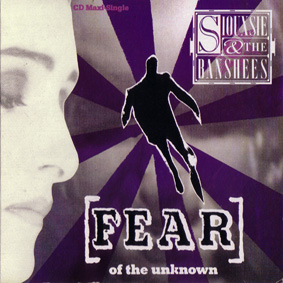 Fear (Of The Unknown) US Promo Import CD Single Front Cover - Click Here For Full Scan