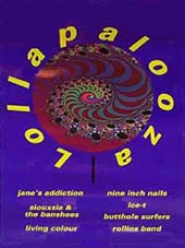 Lollapalooza Flyer - Click Here For Bigger Scan