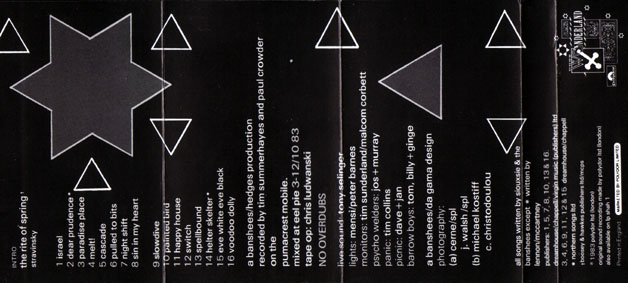 Nocturne Cassette Back - Click Here For Bigger Scan