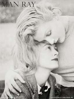 Nusch Eluard Et Sonia Mosse by Man Ray - Click Here For Bigger Scan