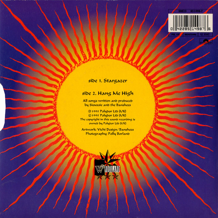 "Stargazer 7"" Single Back Cover"
