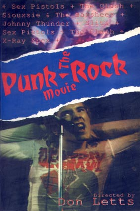 The Punk Rock Movie Video - Click On Cover For Stills