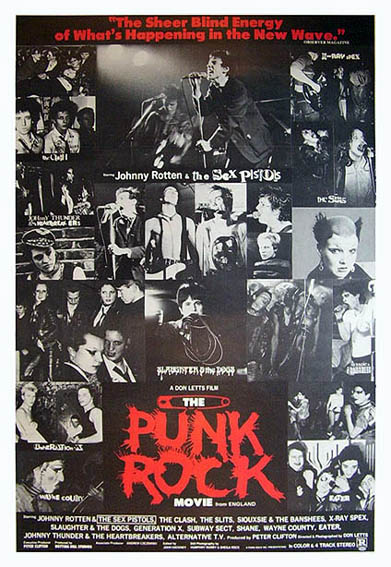 The Punk Rock Movie Advert - Click On Cover For Bigger Scan