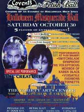 Halloween Masquerade Flyer - Click Here For Bigger Scan