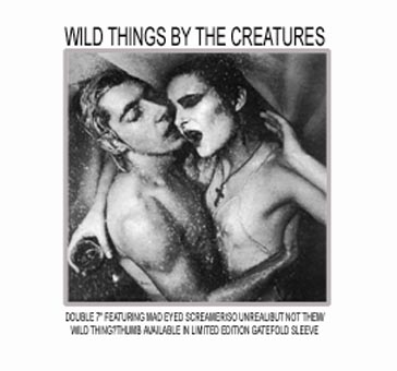 Wild Things EP Advert - Click Here For Bigger Scan